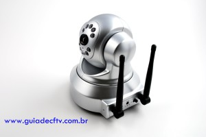 Câmera IP Wireless Dome