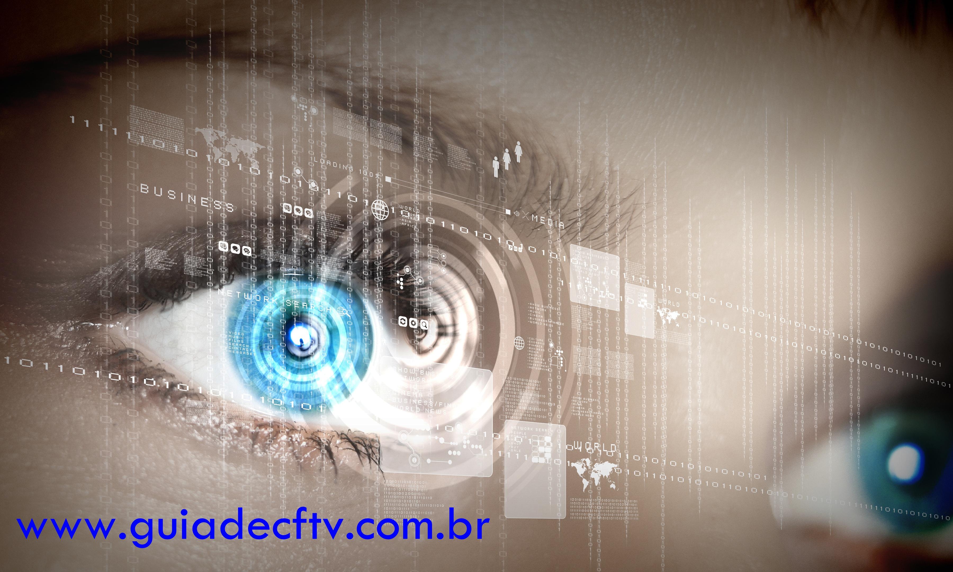 guia de instalação CFTV GV800