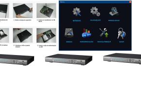 DVR Stand Alone Ecotronic Reiniciando