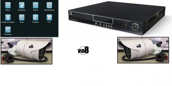 Dicas para Configurar DVR Vid8