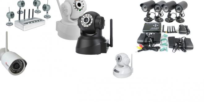 Câmera IP Wireless com Lentidão Imagens Vídeos