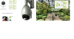 Câmera AirLive SmartCube com Sensor de Temperatura e Umidade