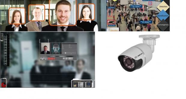 Câmeras com Reconhecimento Facial CFTV