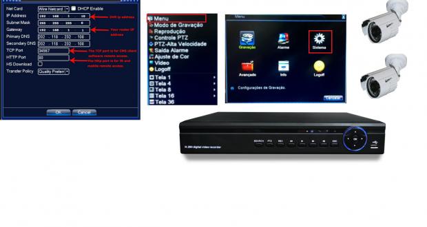 Aplicativo para Acesso Remoto DVR RG CFTV