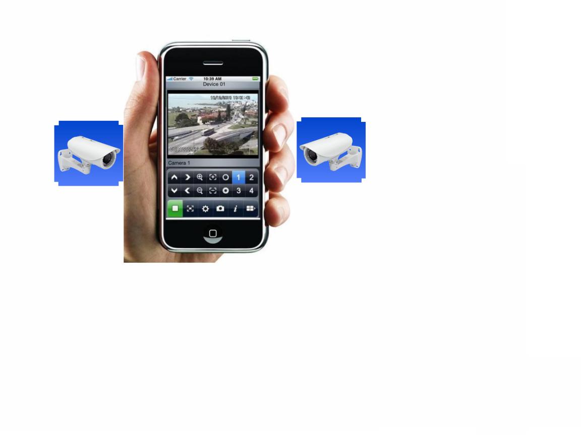 Acesso a Câmeras IP pelo Iphone e Ipad