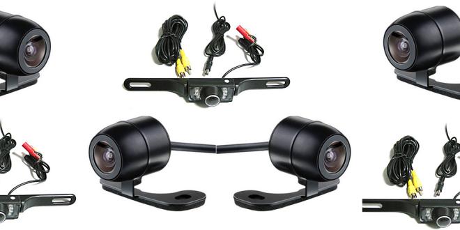 Câmera IP Instalada em Carro
