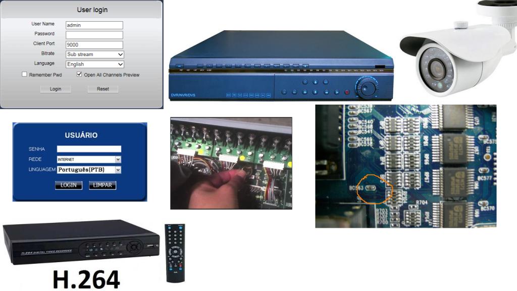 Dicas para Resetar DVR Stand Alone H 264 CFTV